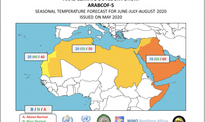 ArabCOF temperature June-July-Aug 2020