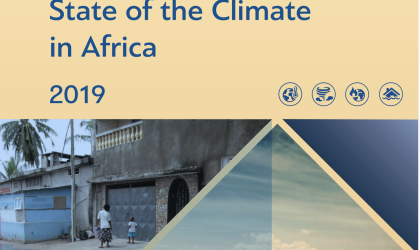 State of Climate in Africa 2019