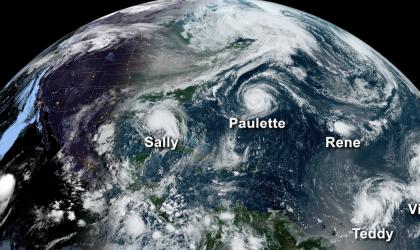 2020 Atlantic hurricane numbers