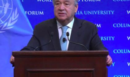 UN Secretary-General State of the Planet speech 2.12.2020