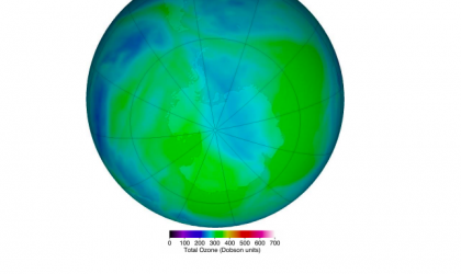 2020 Antarctic ozone hole closes: NASA Ozone Watch (29.12.2020)