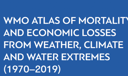 Atlas of Mortality of Weather, Climate and Water Extremes 1970-2019