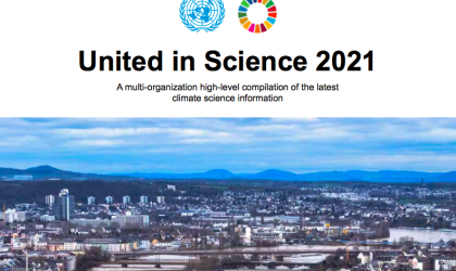 United in Science 2021 set for release