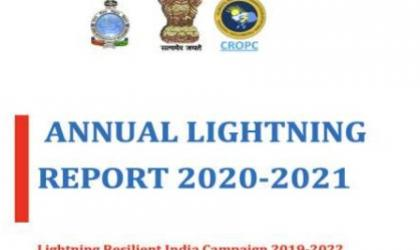 Annual lightning report 2020-2021