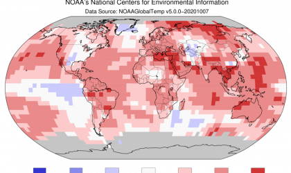 Warmest September on record: NOAA