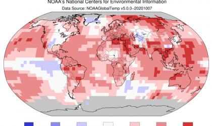 Warmest September on record: NOAA