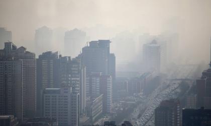 """Smog line"" - Beijing - Alfred Lee"