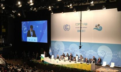 WMO SG Taalas addresses opening of COP23