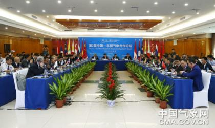 The Second China Meteorological Forum was held.