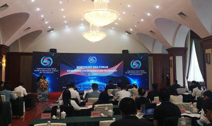 During the opening ceremony of the forum Credit: Liaoning Provincial Meteorological Service