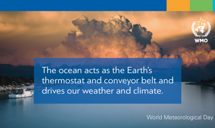 World Met Day 2021, the ocean, our climate and weather