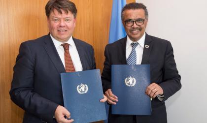 SG WMO and DG WHO- Agreement May 2018