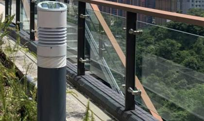 Trial of weather measurement by the bollard style automatic weather station installed at the Chinese University of Hong Kong