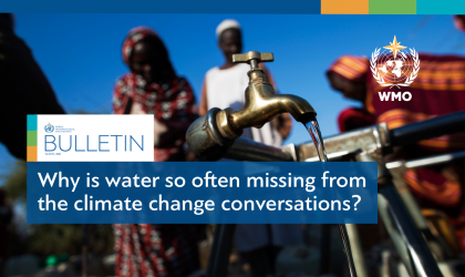 WMO Bulletin goes green, focus on climate and water