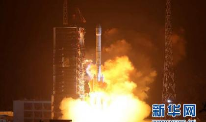 At 00:11 BJT on December 11,Fengyun-4-01 blasts off the launching pad at Xichang Satellite Launch Center Photo from Xinhuanet
