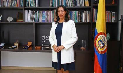 Yolanda Gonzalez Hernandez of Colombia, president of WMO Regional Association III