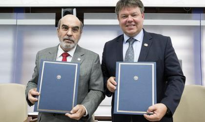 WMO and FAO agreement on cooperation