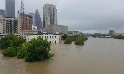 Flooding from Hurricane Harvey, Photo: Tom Fitzpatrick, Fugro