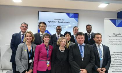 Hydromet alliance launched at COP25