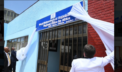 WMO Regional Office for Africa opens in Ethiopia