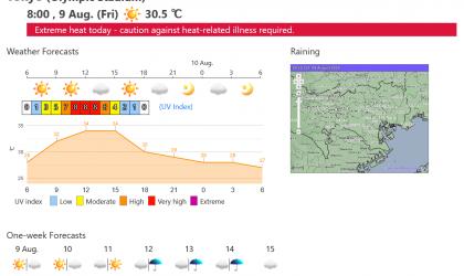 JMA's Tokyo 2020 Weather Portal Website