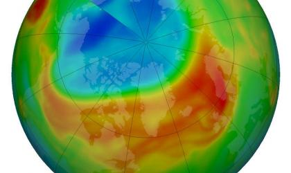 Arctic ozone depletion reached record level