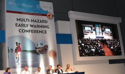 Multi-Hazard Early Warning Conference, Cancun, 22-23 May 2017