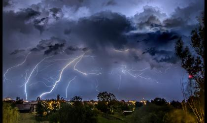 Cumulonimbus above Karlovac, Croatia. Photo: Dario Markolin