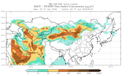 WMO highlights action on sand and dust storms