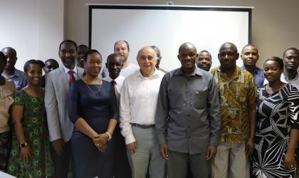 PICSA training workshop participants in a group Photo