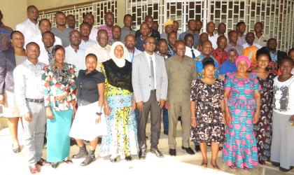 Participants of the training on coding and decoding weather data