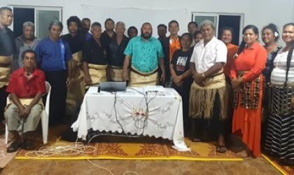 MHEWS Community Consultations at Falehau Village