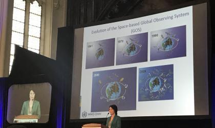 WMO DSG Manaenkova at NOAA Satellite conference 2017