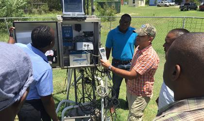 WMO Group Fellowship Training on Instrument Maintenance and Calibration at the Caribbean Institute for Meteorology and Hydrology