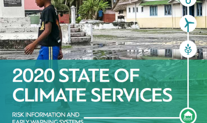 2020 State if Climate Services Report