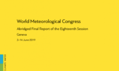 World Meteorological Congress: Abridged Final Report of the Eighteenth Session (WMO-No. 1236)