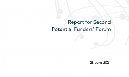 Systematic Observations Financing Facility (SOFF): Report for Second Potential Funders' Forum