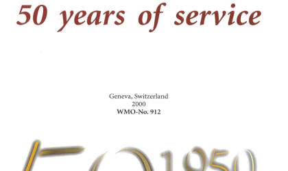 WMO 50 Years of Service