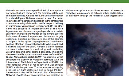 WMO Aerosol Bulletin