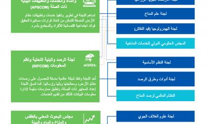 خریطة إصلاح المنظمة: اللجان الفنية والهيئات الأخرى
