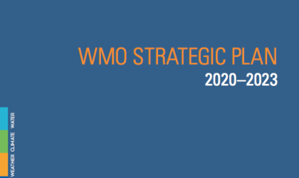 WMO Strategic Plan 2020-2023 Cover