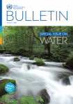 World Water Day special WMO Bulletin