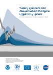 Twenty Questions and Answers about the Ozone Layer: 2014 update