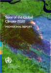 Final State of the Global Climate 2020 - Provisional Report Cover