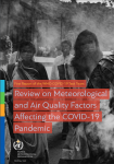 First Report of the WMO COVID-19 Task Team