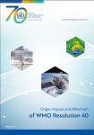 Origin, Impact and Aftermath of WMO Resolution 40