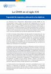 Reforma de la gobernanza: La OMM en el siglo XXI