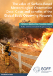 The value of Surface-Based Meteorological Observation Data: Costs and benefits of the Global Basic Observing Network