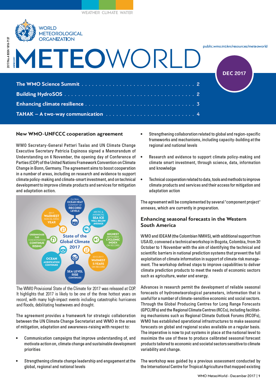 MeteoWorld No.4/December 2017