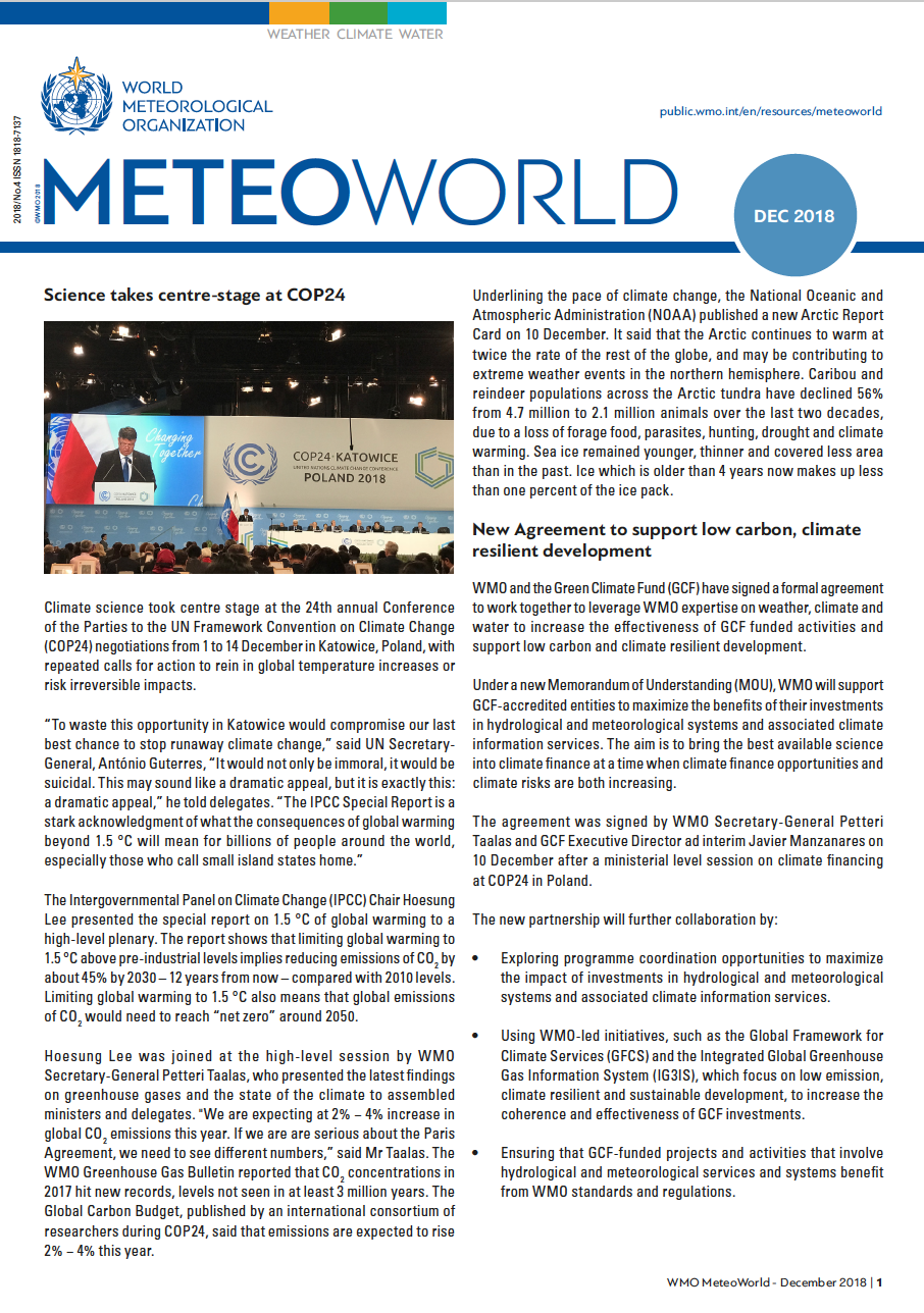 MeteoWorld No.4 December 2018